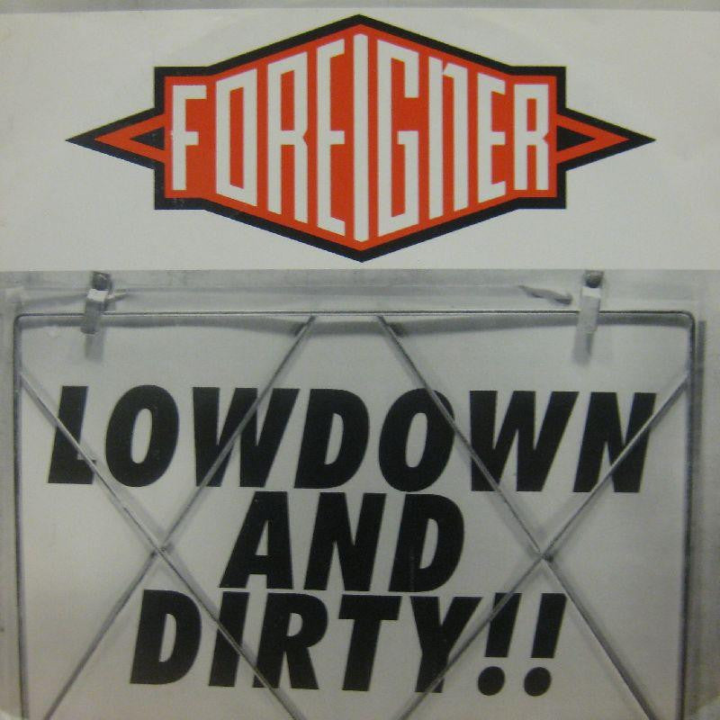 "Foreigner-Lowdown And Dirty-Atlantic-12"" Vinyl"