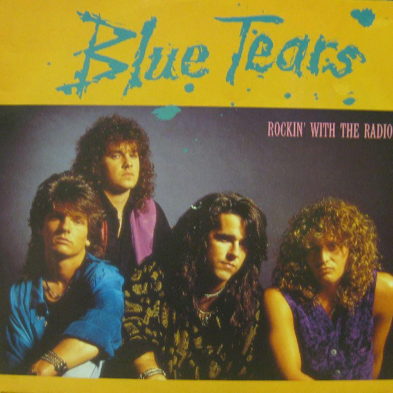 "Blue Tears-Rockin' With The Radio-MCA-12"" Vinyl"