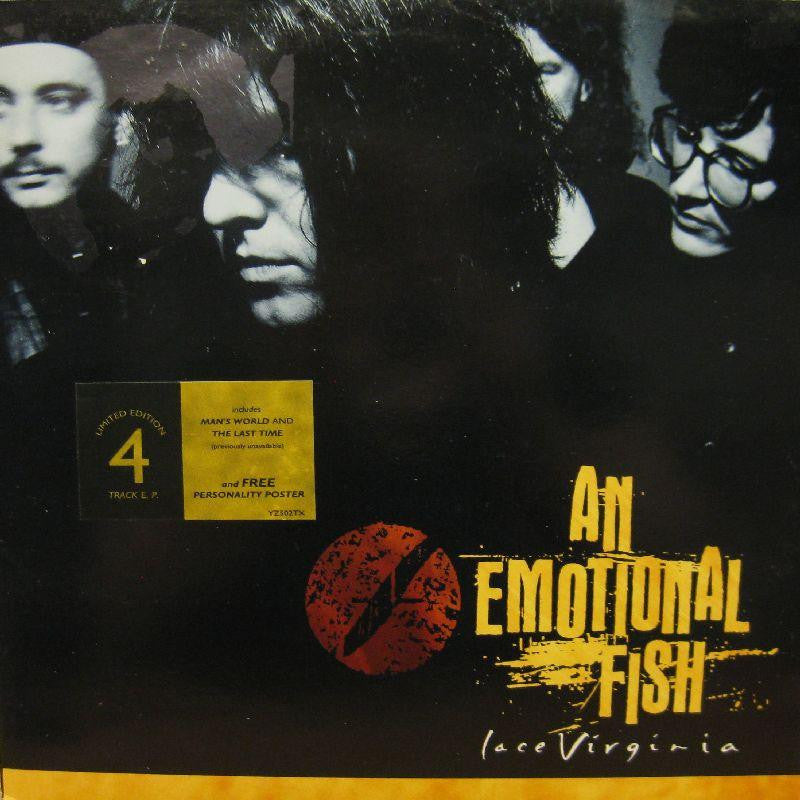 "An Emotional Fish-Lace Virginia-East West-12"" Vinyl"