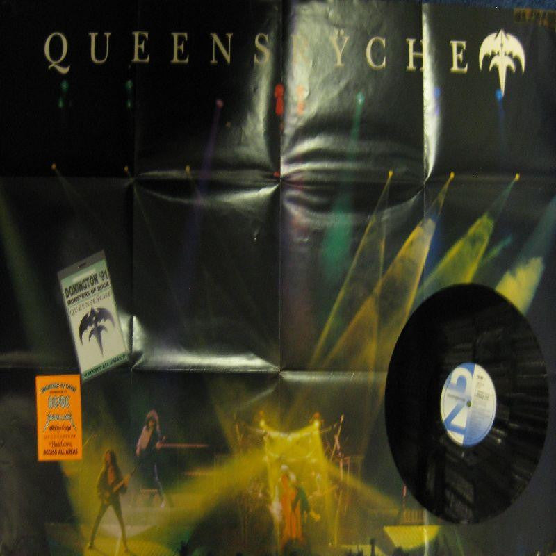 "Queensryche-Jet City Woman/ Empire/ Walk In The Shadows-EMI-12"" Vinyl"