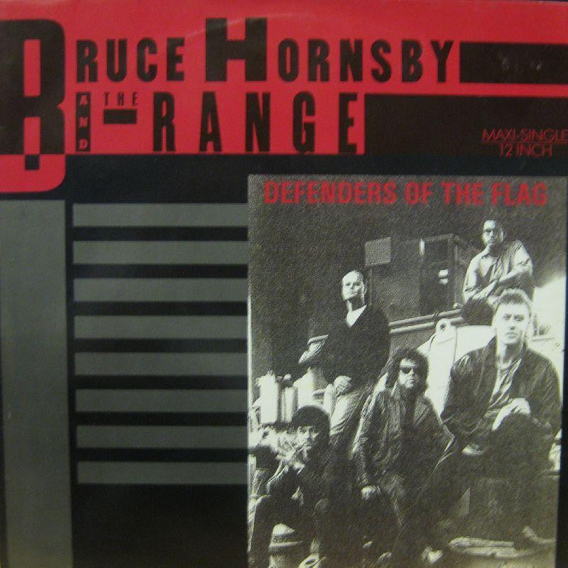 "Bruce Hornsby And The Range-Defenders Of The Flag-RCA-12"" Vinyl"