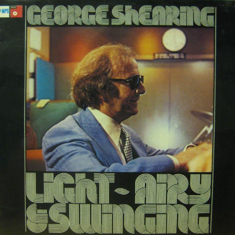 George Shearing-Light Airy & Swinging-Basf-Vinyl LP