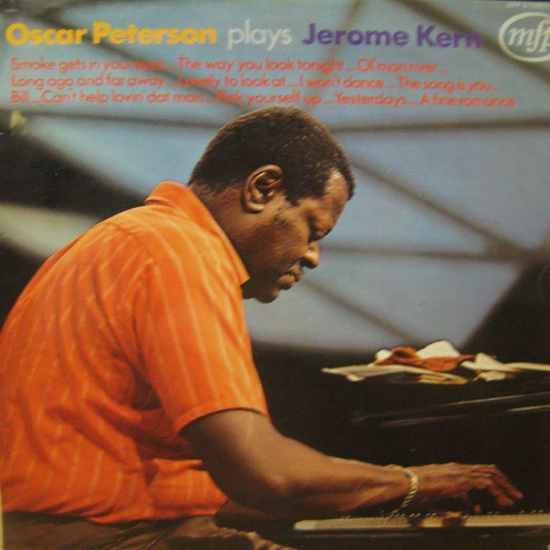 Oscar Peterson-Plays Jerome Kern-MFP-Vinyl LP