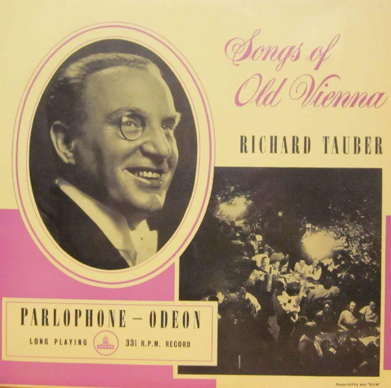 "Richard Tauber-Songs Of Old Vienna-Odeon-10"" Vinyl"