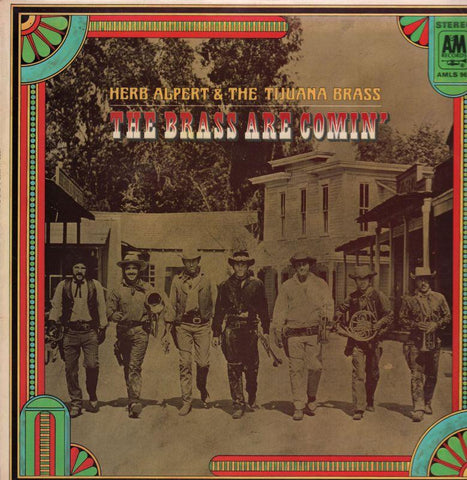 Herb Alpert & The Tijuana Brass-The Brass Are Comin'-A&M-Vinyl LP