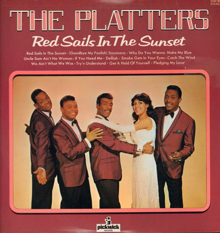 The Platters-Red Sails In The Sunset-Hallmark-Vinyl LP