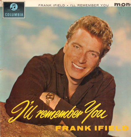 Frank Ifield-I'll Remember You-Columbia-Vinyl LP