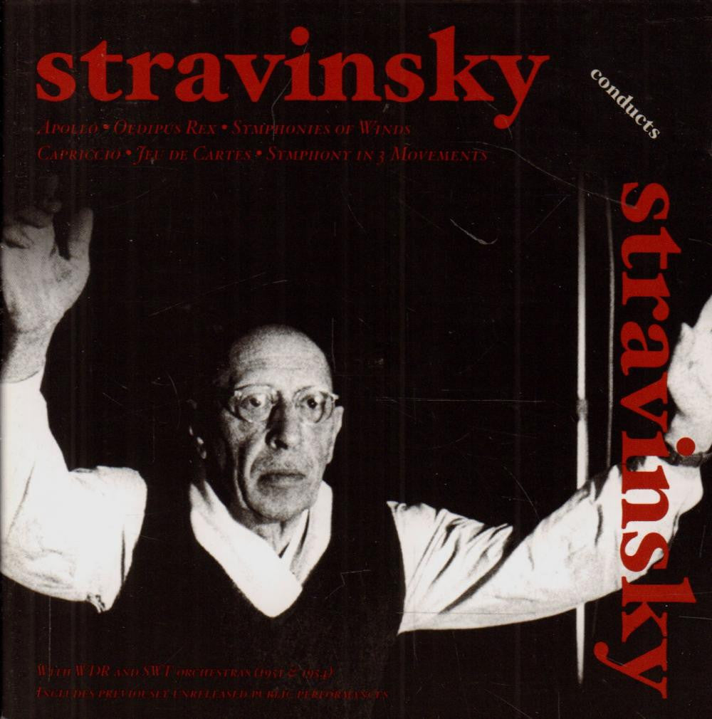 Stravinsky-Conducts-2CD Album