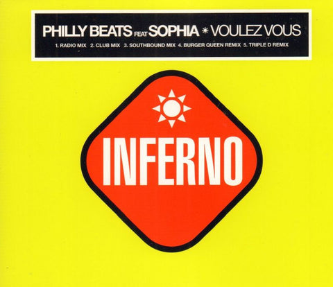 Philly Beats Ft. Sophia-Voulez Vous-Inferno-CD Single
