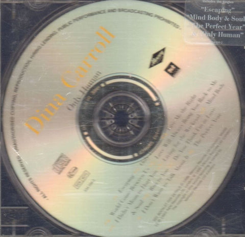 Dina Carroll-Only Human-Mercury-CD Album