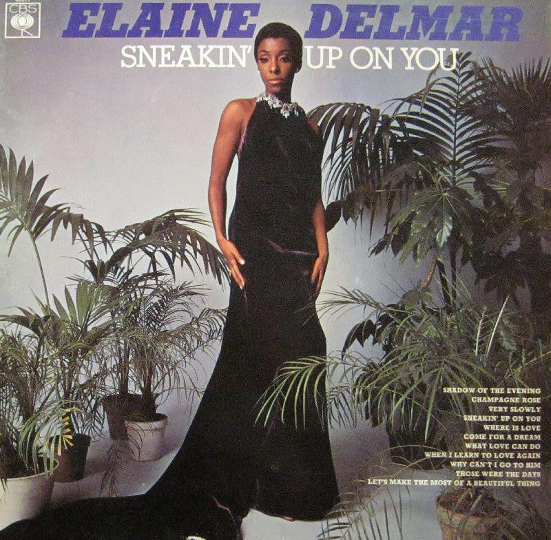 Elaine Delmar-Sneakin' Up On You-CBS-Vinyl LP