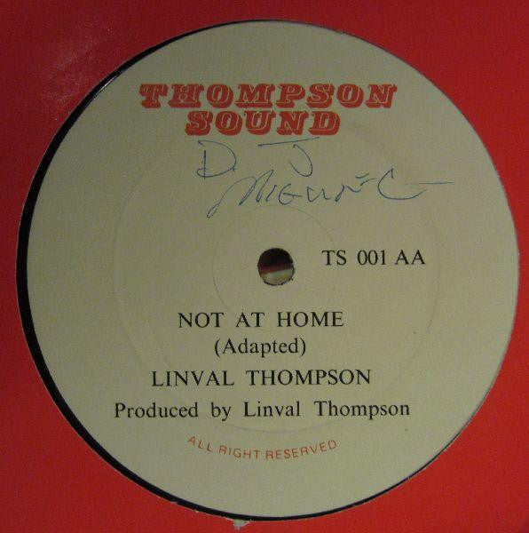 "Linval Thompson-You Baby (Adapted)-Thompson Sound-12"" Vinyl"