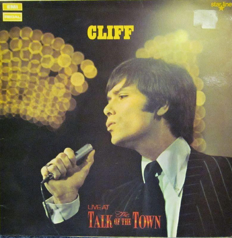 Cliff Richard-Live At The Talk Of The Town-EMI-Vinyl LP