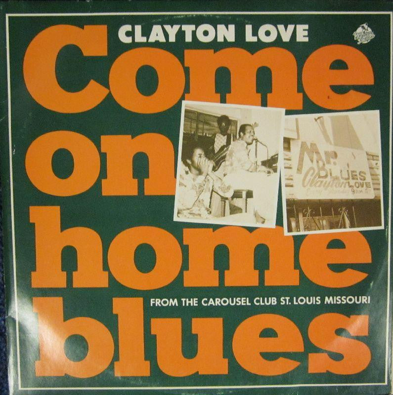 "Clayton Love-Come On Home Blues-Red Lightnin-10"" Vinyl"