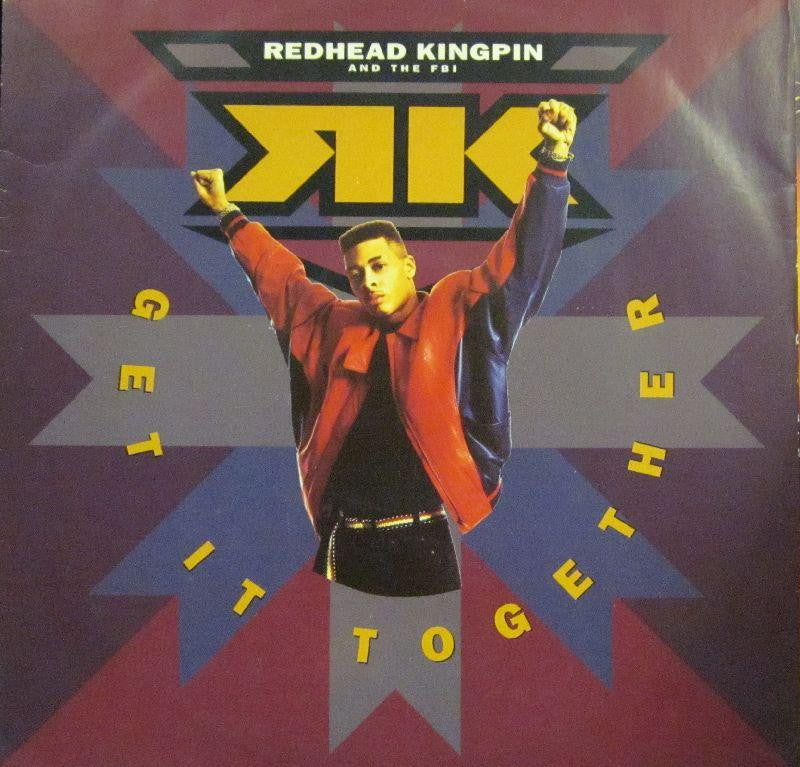 "Redhead Kingpin-Get It Together-Redmann Music/ Virgin America-12"" Vinyl"