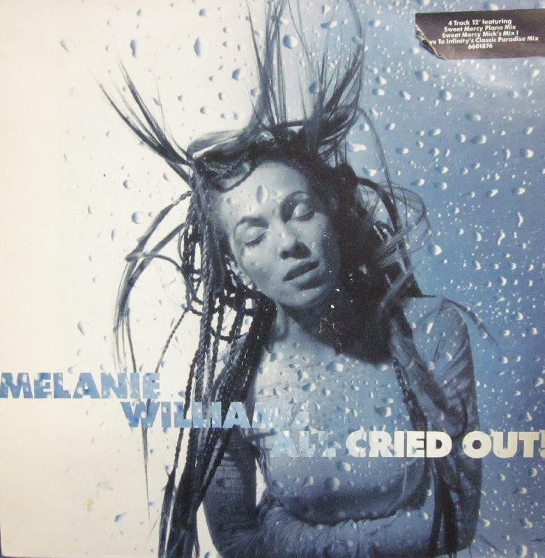 "Melanie Williams-All Cried Out-Columbia-12"" Vinyl"
