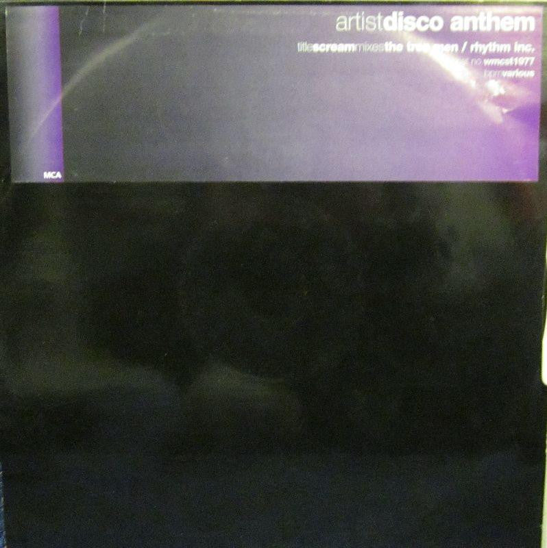 "Disco Anthem-Scream Mixes the Tree Man/ Rhythm inc-MCA Records-12"" Vinyl"