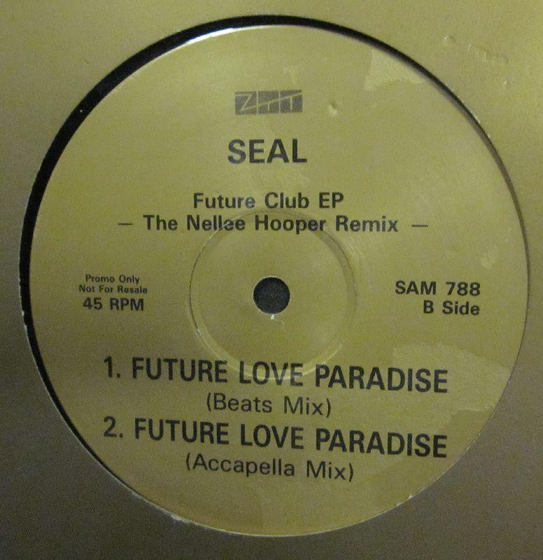 "Seal-Future Love Paradise-ZTT-12"" Vinyl"