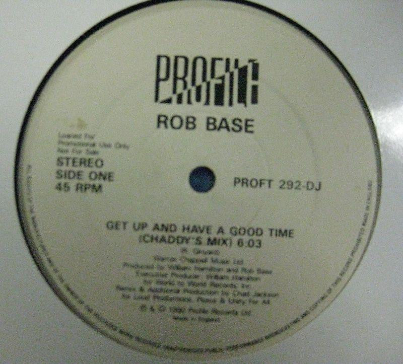 "Rob Base-Get Up And Have A Good Time-Profile Records-12"" Vinyl"