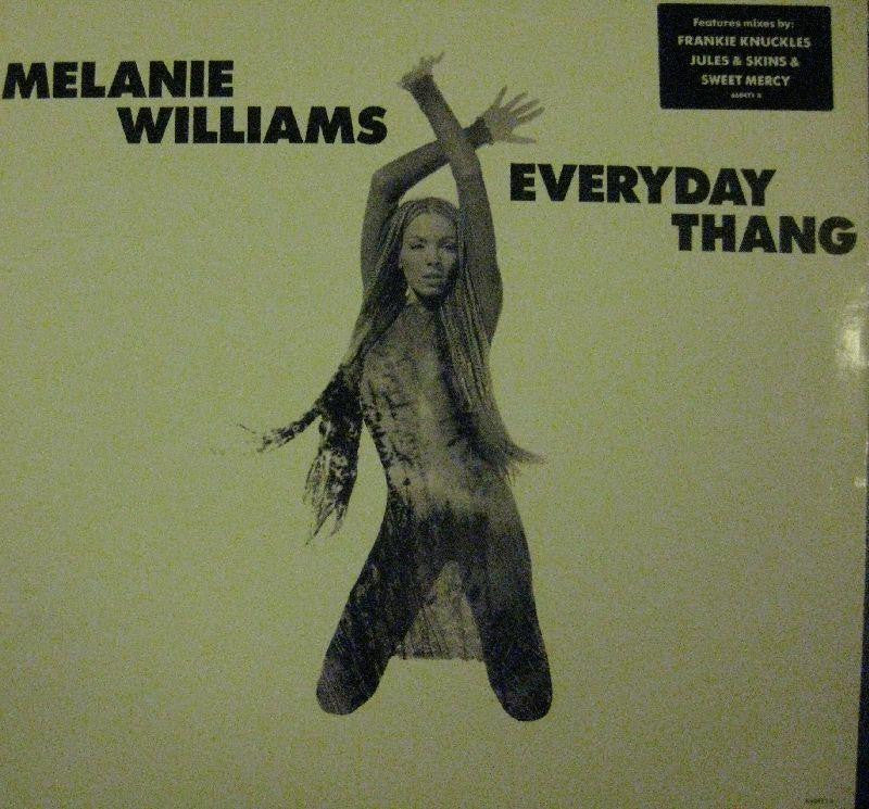 "Melanie Williams-Everyday Thang-Columbia-12"" Vinyl"