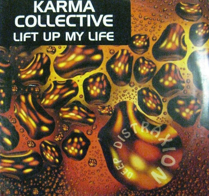 "Karma Collective-Lift Up My Life-Deep Distraxion-12"" Vinyl"