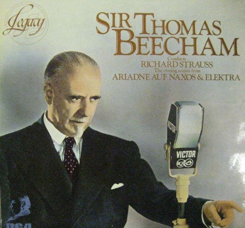 Thomas Beecham-Conducts Strauss-RCA-Vinyl LP