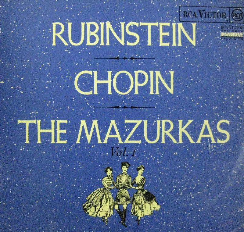 Chopin-The Mazurkas Vol.1-RCA-Vinyl LP