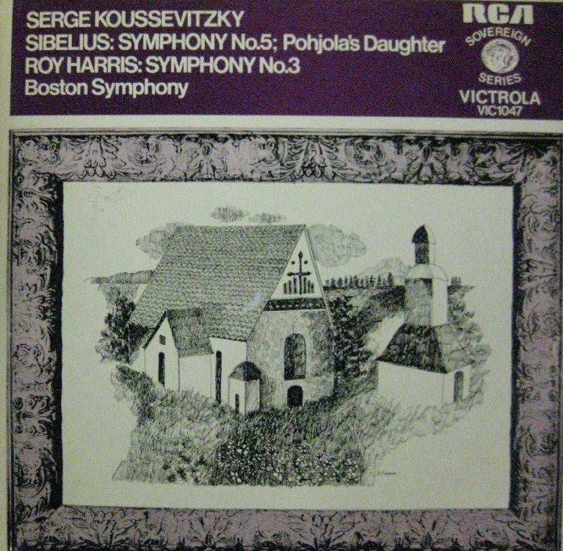 Sibelius-Pohjola's Daughter-RCA-Vinyl LP