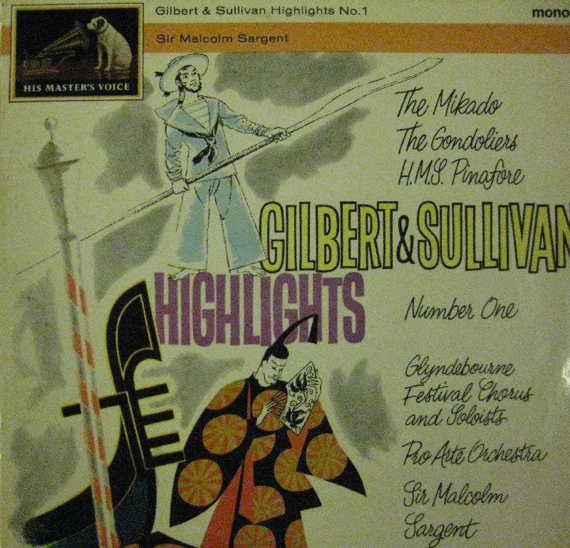 Gilbert And Sullivan-Highlights-EMI-Vinyl LP