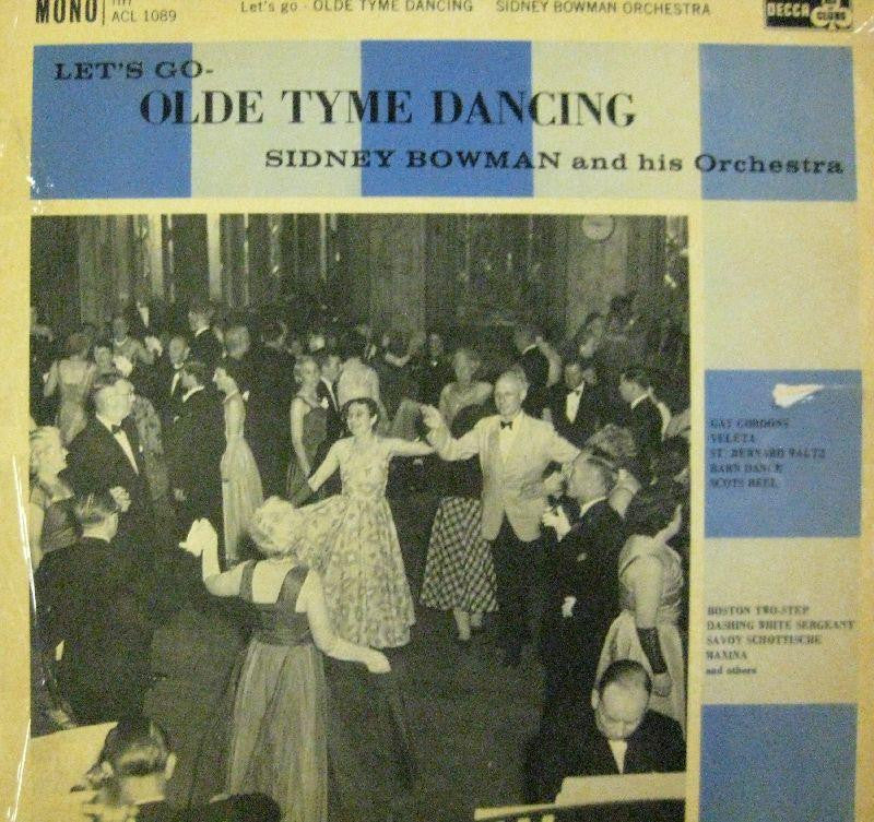 Sidney Bowman & His Orchestra-Lets Go Olde Tyme Dancing-Ace Of Clubs-Vinyl LP