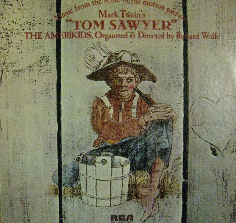 The Amerikids-Music From Mark Twains Tom Sawyer-RCA-Vinyl LP