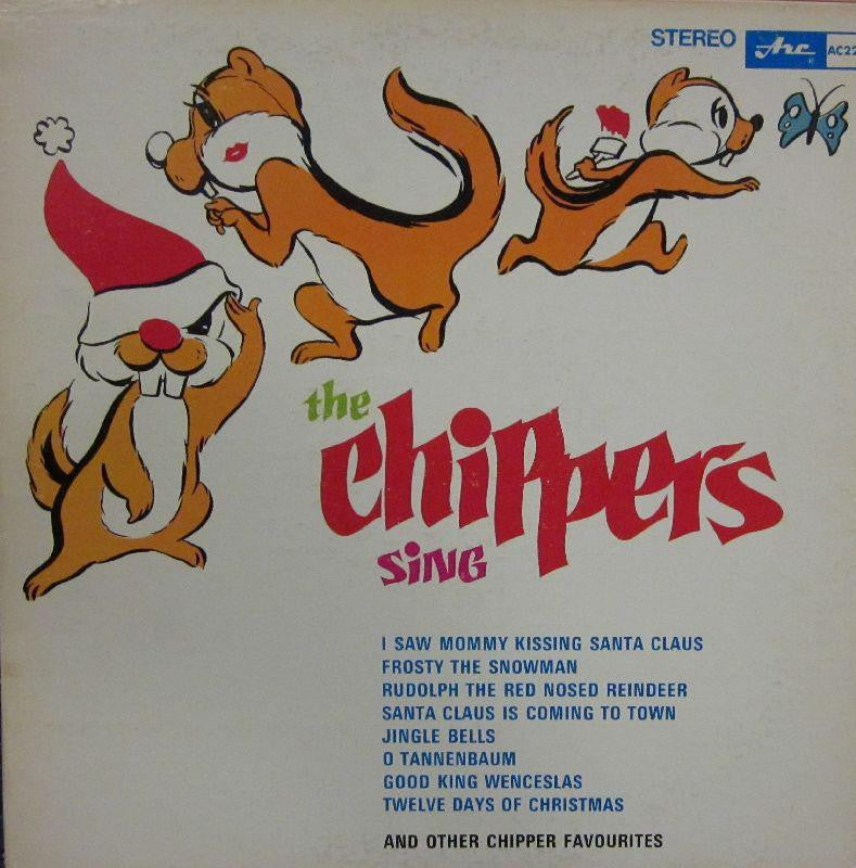 The Chippers-Christmas With The Chippers-ARC-Vinyl LP