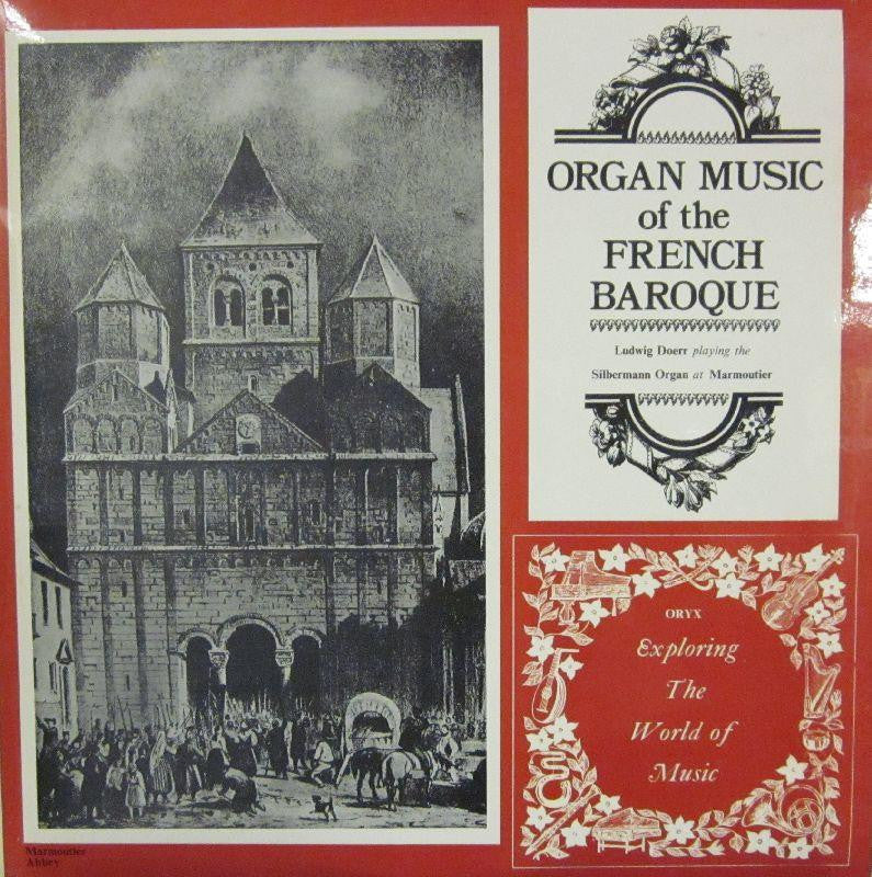 French Baroque-Organ Music-Oryx Exploring The World Of Musi-Vinyl LP