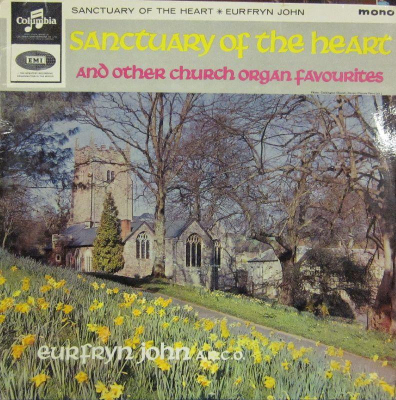 Eurfryn John-Sanctuary Of The Heart & Other Church Organ Favourites-Columbia-Vinyl LP