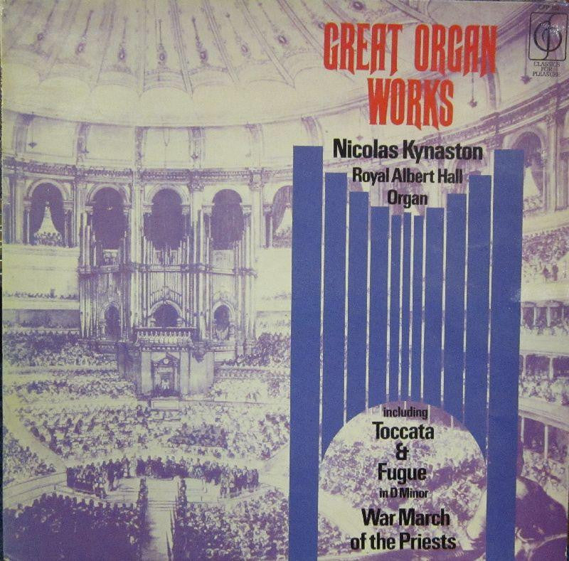 Nicolas Kynaston-Great Organ Works-Classics For Pleasure-Vinyl LP