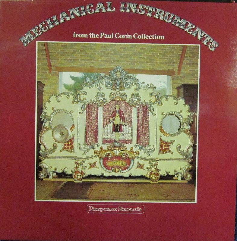Paul Corin-Mechanical Instruments-Response-Vinyl LP
