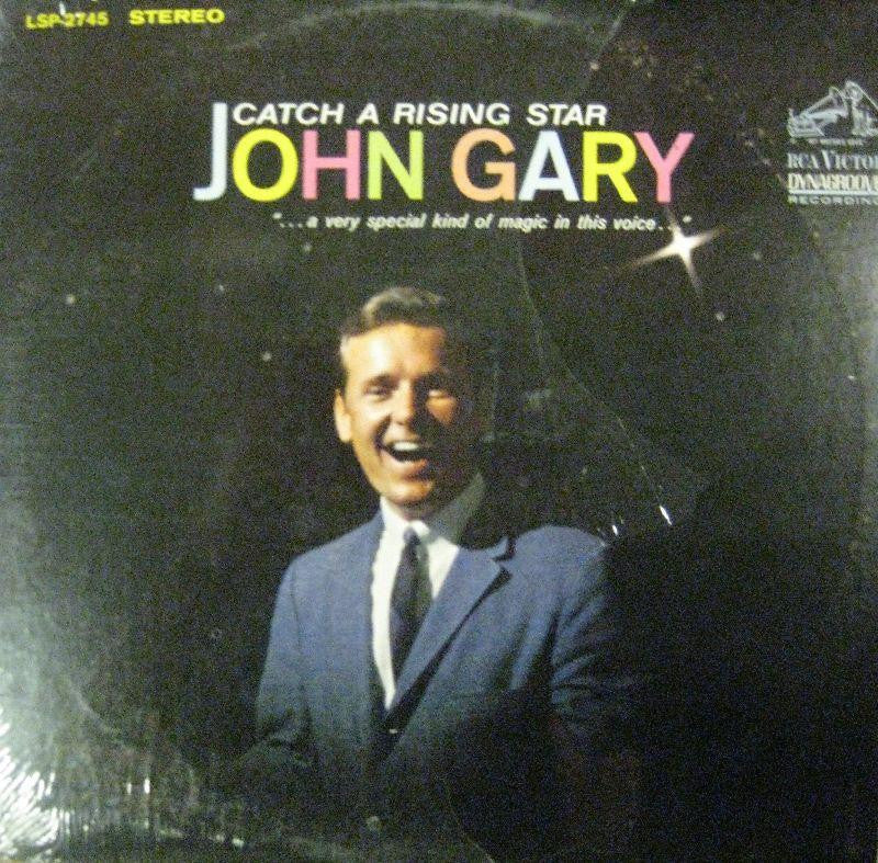 John Gary-Catch A Rising Star-RCA Victor-Vinyl LP