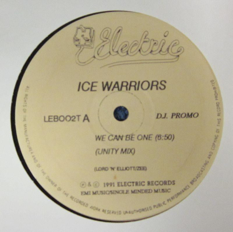 "Ice Warriors-We Can Be One-Electric-12"" Vinyl"