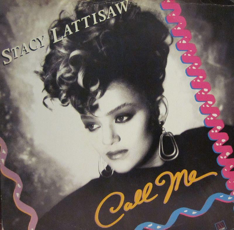 "Stacy Lattisaw-Call Me-Motown-12"" Vinyl"