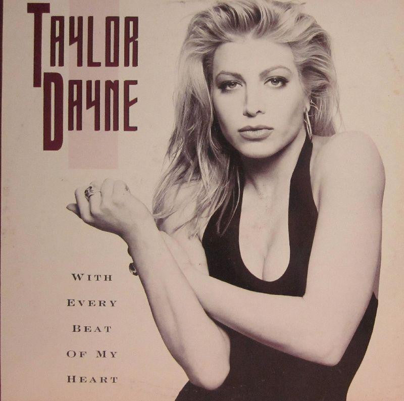 "Taylor Dayne-With Every Beat Of My Heart-Arista-12"" Vinyl"