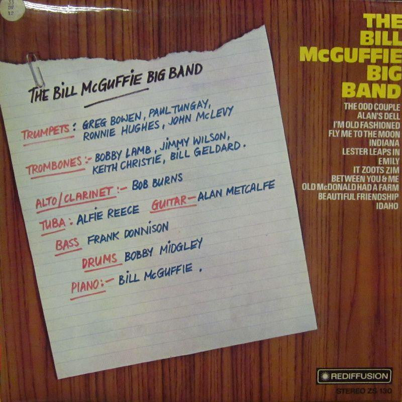 Bill Mcguffie-The Big Band-Rediffusion-Vinyl LP
