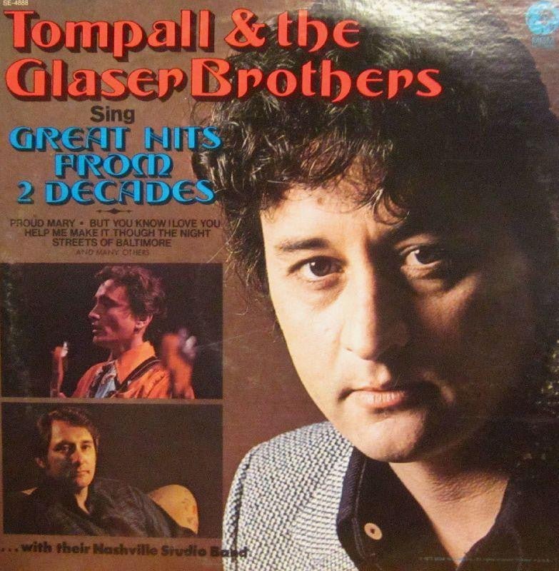 Tompall & The Glasers-Great Hits From Two Decades-MGM-Vinyl LP