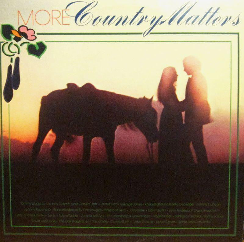 "Various Country-More Country Matters-CBS-2x12"" Vinyl LP Gatefold"