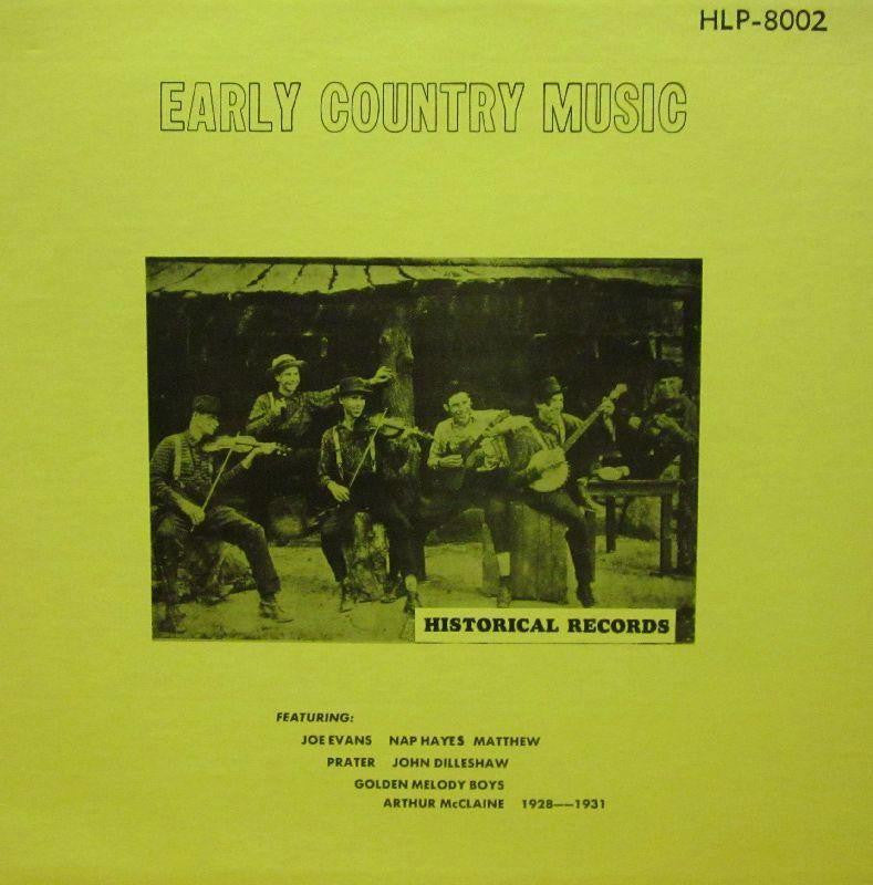 Various Country-Early Country Music-Historical-Vinyl LP