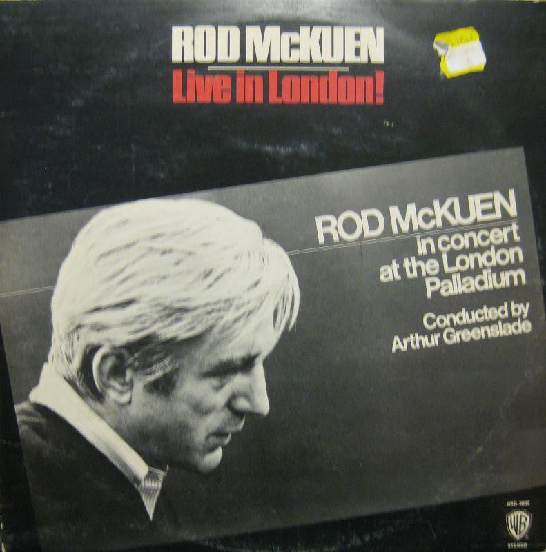 "Rod McKuen-Live In London-Warner-2x12"" Vinyl LP Gatefold"