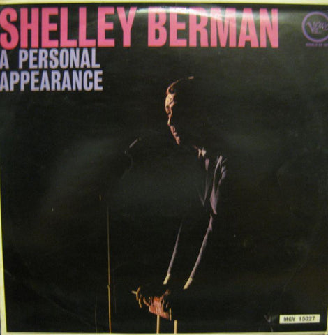 Shelley Berman-A Personal Appearance-Verve-Vinyl LP