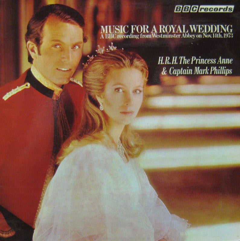 Choir of Westminster Abbey-Music For A Royal Wedding : Princess Anne & Mark Phillips-BBC-Vinyl LP Gatefold