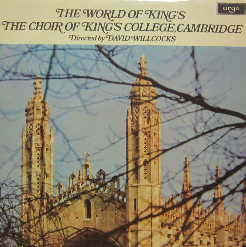Kings College Choir, Cambridge-The World Of-Argo-Vinyl LP