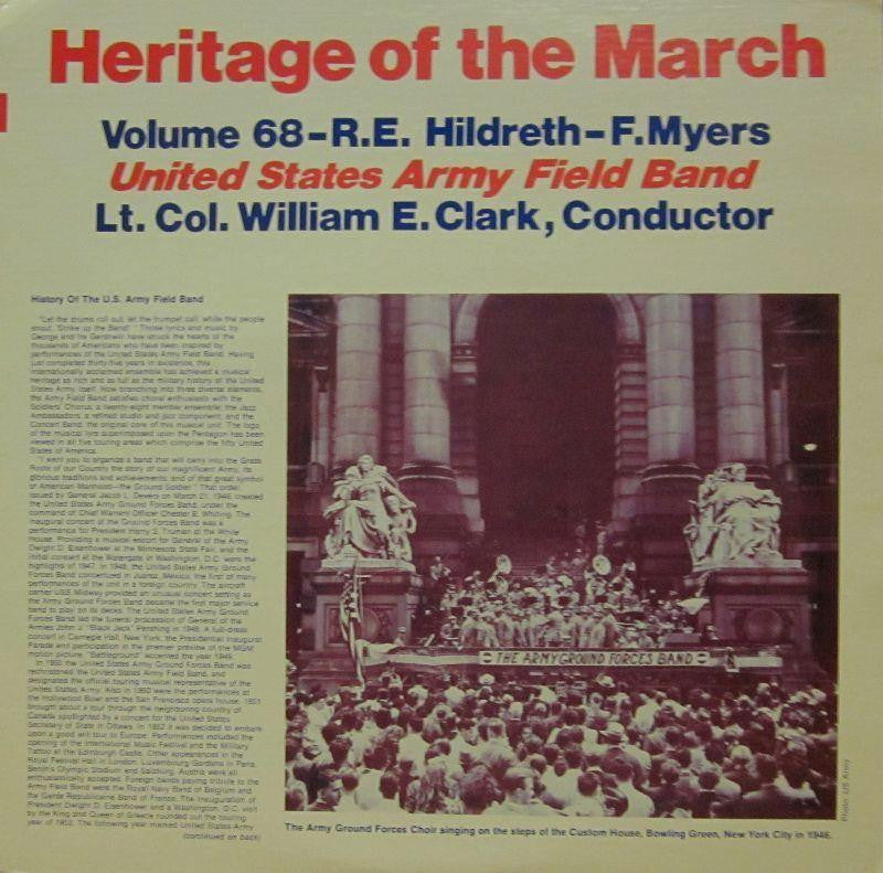 United States Army Field Band-Heritage Of The March: Volume 68-Vinyl LP