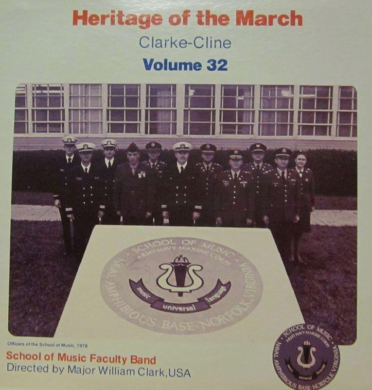 School of Music Faculty Band-Heritage Of The March: Volume 32-Vinyl LP